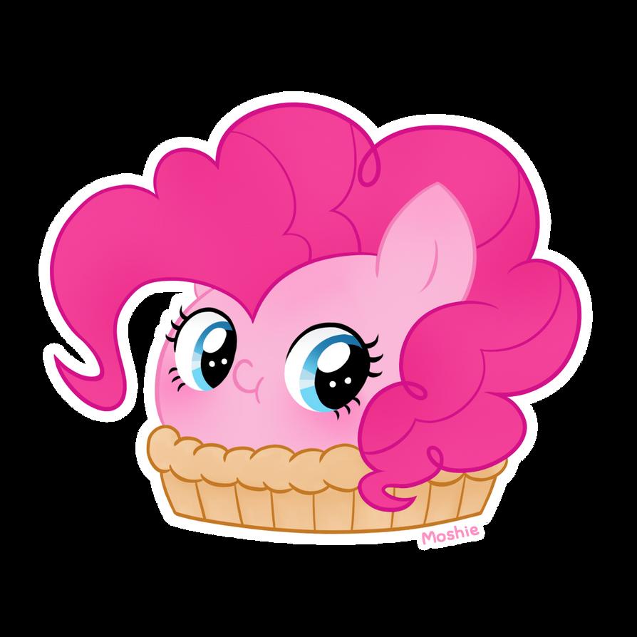 Pinkie Pie as a pie by iMoshie on DeviantArt
