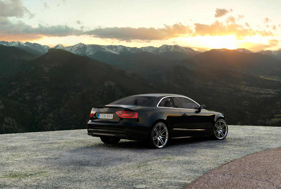 audi a5 coupe 2008 by grevonet on deviantart. Black Bedroom Furniture Sets. Home Design Ideas
