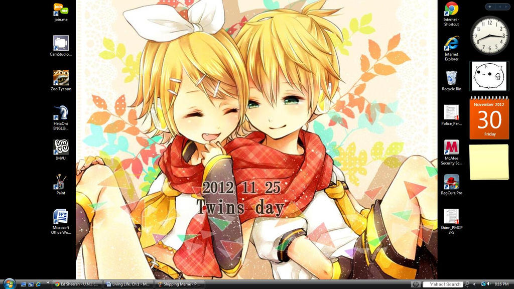 Mah wallpaper. :B by MadokaMagicaRocks
