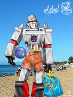 LuanaTF's G1 Megatron Colored by tropical-angel