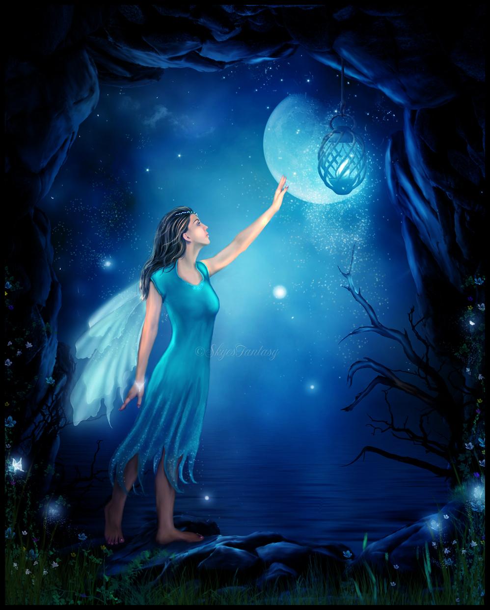 light fairies wallpaper - photo #30