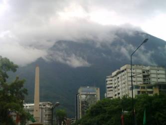 Una muralla en las nubes