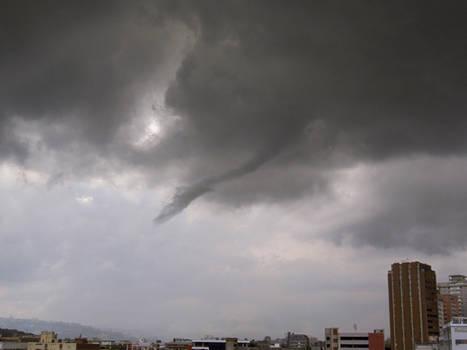 Tornado en Caracas