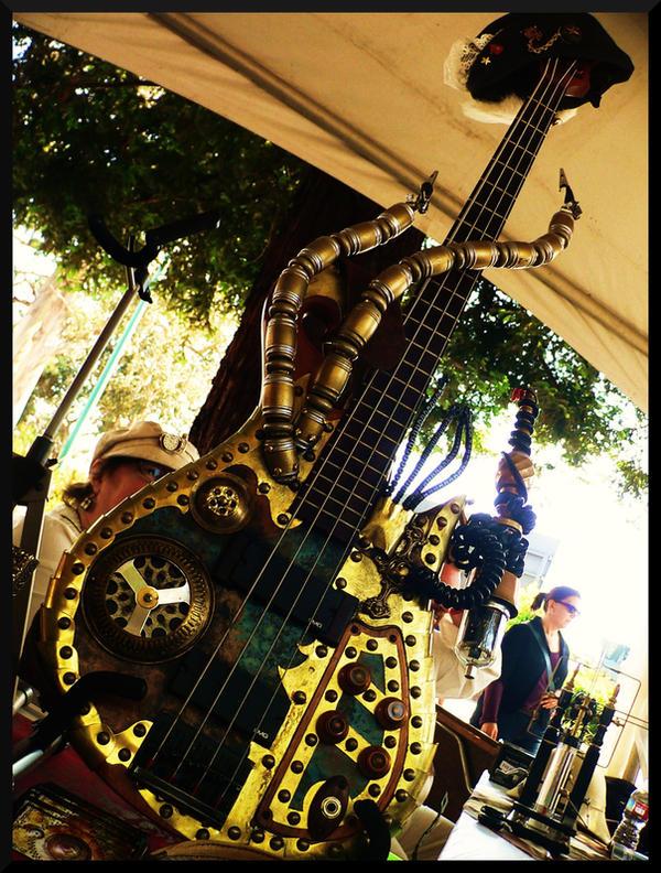 Steampunk Bass by EllaryRose