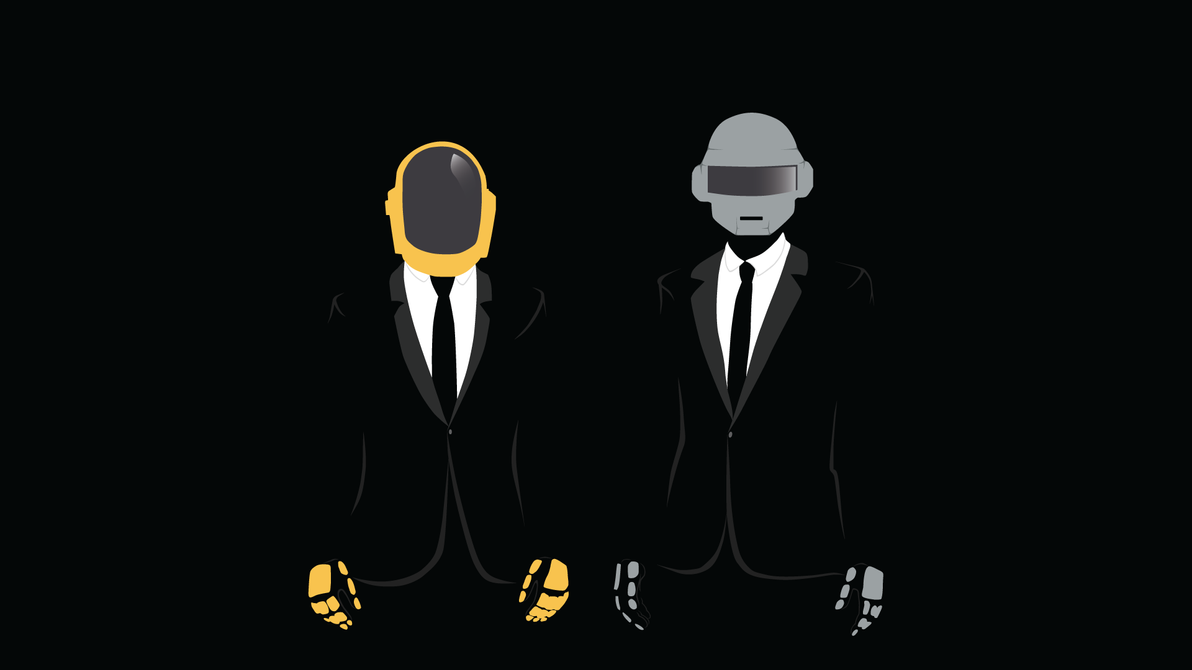 Daft-Punk-Minimalistic by Inferna-assassin