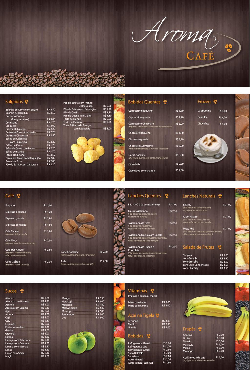 Cafe Menu by JeanR