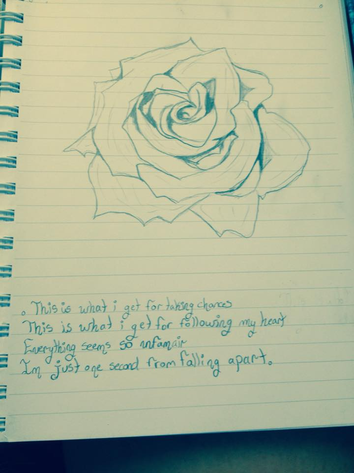 Rose Sketch by Someone-that-is-me