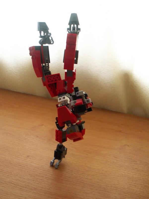 Exoskeleton v1.0 acrobatics by TheMugbearer