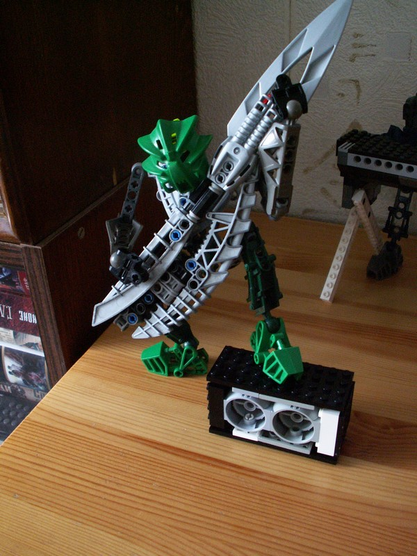 Hard Rock Bionicle - Solo-guit by TheMugbearer