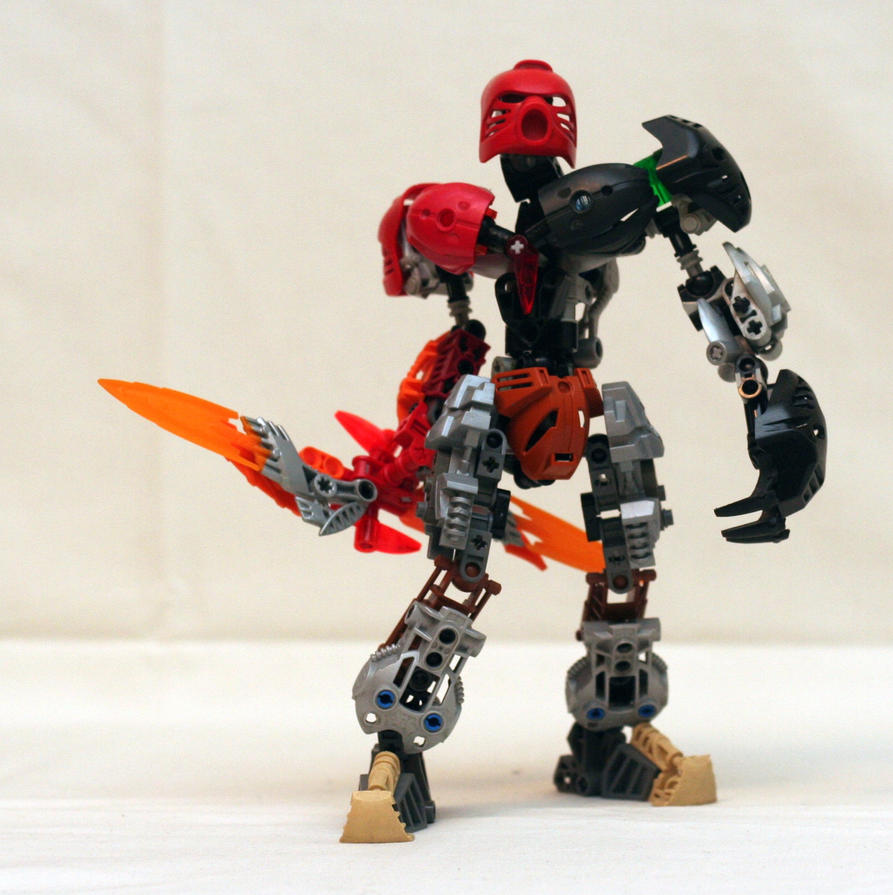 Toa of Valor by TheMugbearer