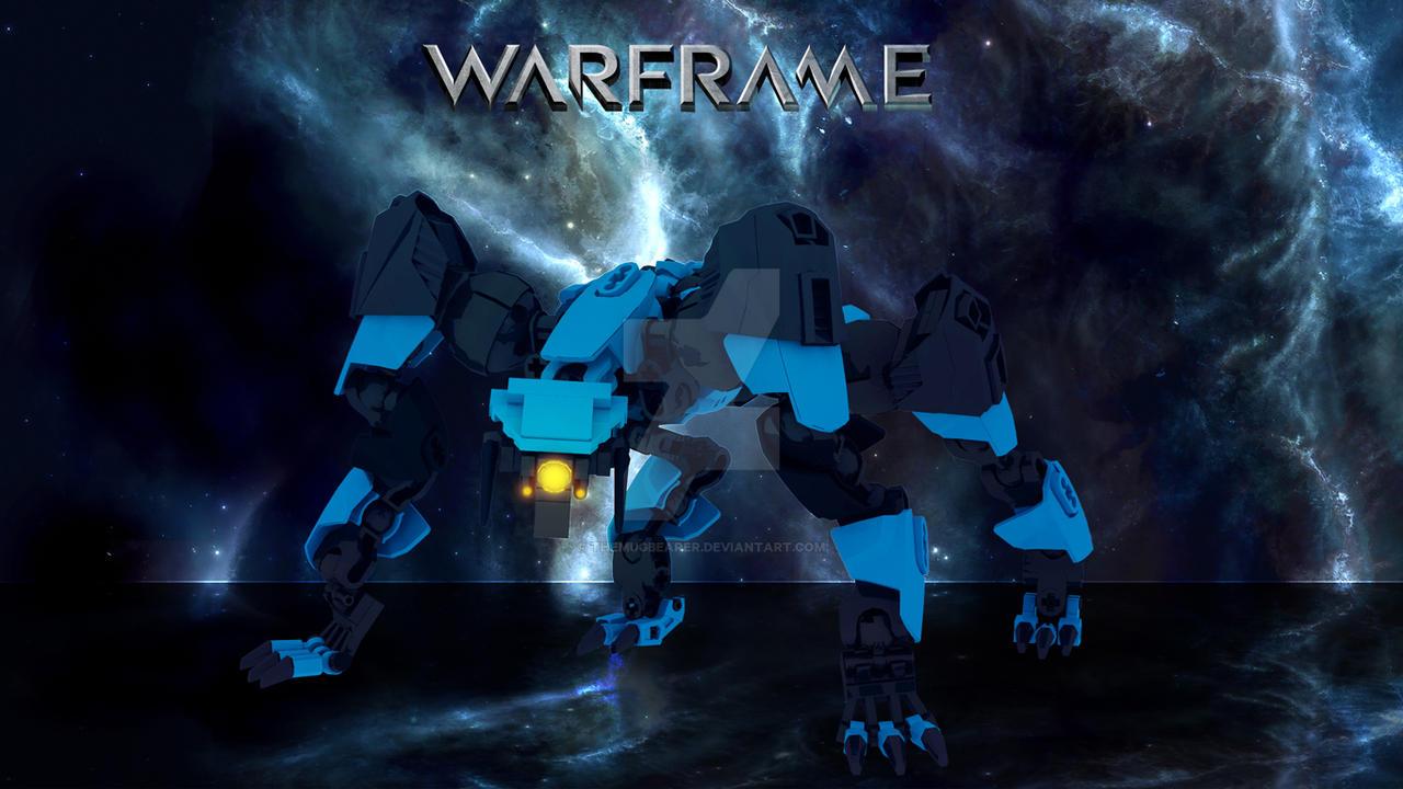 Warframe Lego Hyena Wallpaper 1366x768 by TheMugbearer