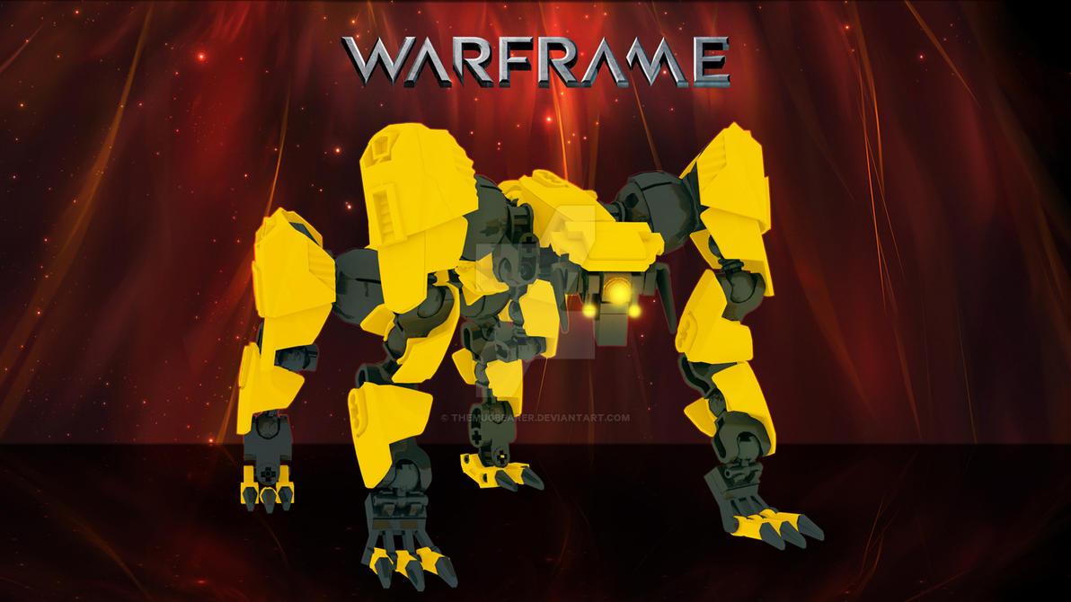 Warframe Lego Jackal Wallpaper 1366x768 by TheMugbearer