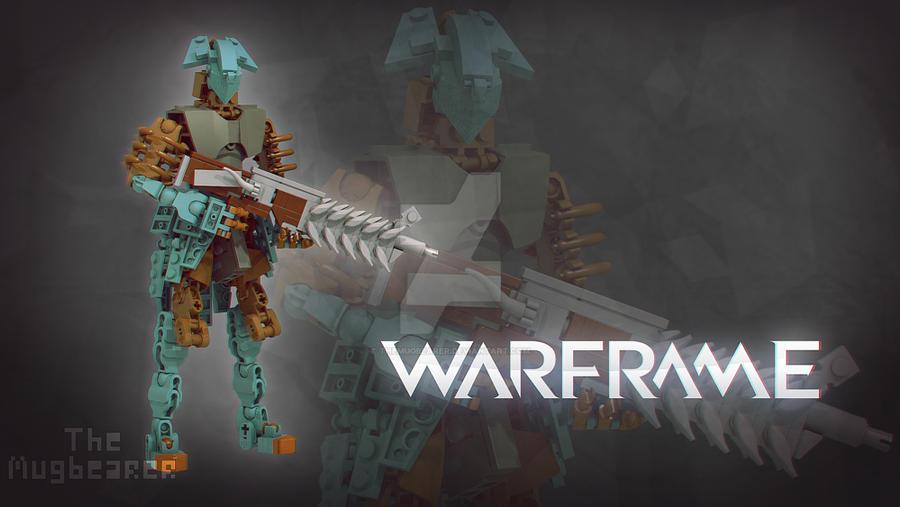 LEGO Warframe: Volt by TheMugbearer