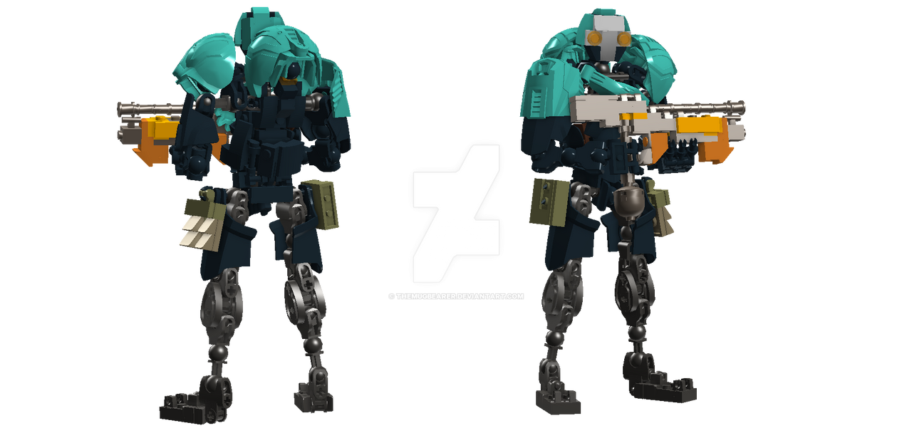 Lego Ccbs 2018 >> Grineer Lancer by TheMugbearer on DeviantArt