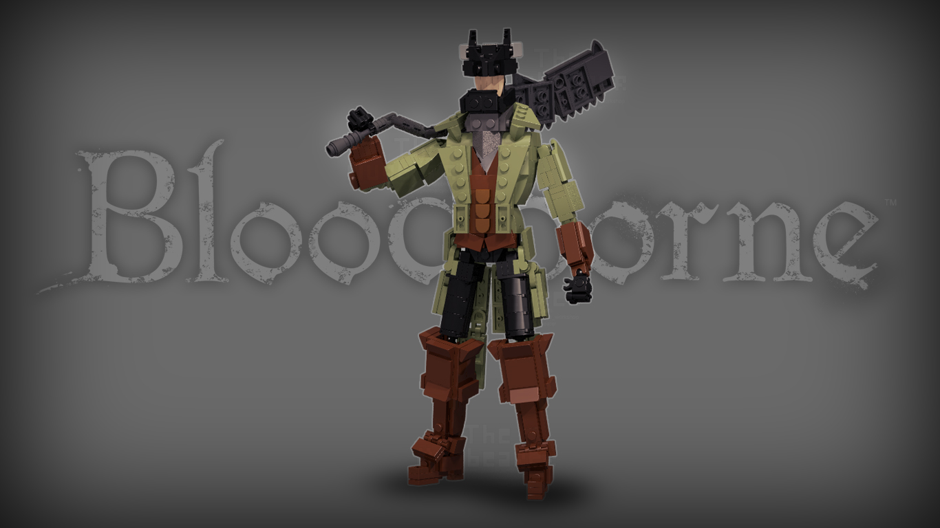 [Render/Figurine] Bloodborne - Hunter by TheMugbearer