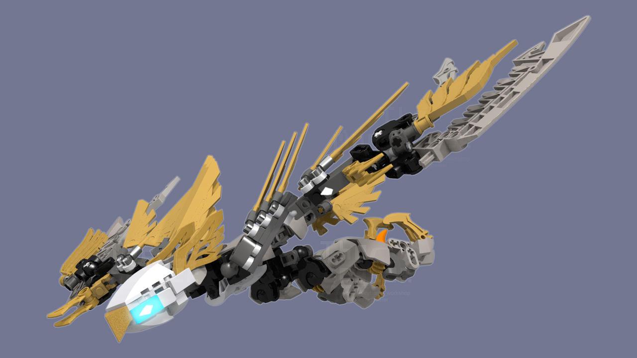 [Digital MOC Commission] Ekimu's Hawk by TheMugbearer