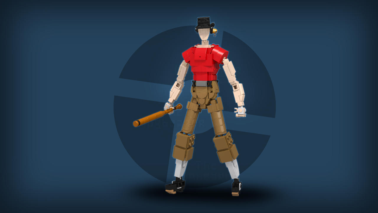 [Render] Red Scout (Team Fortress 2) by TheMugbearer