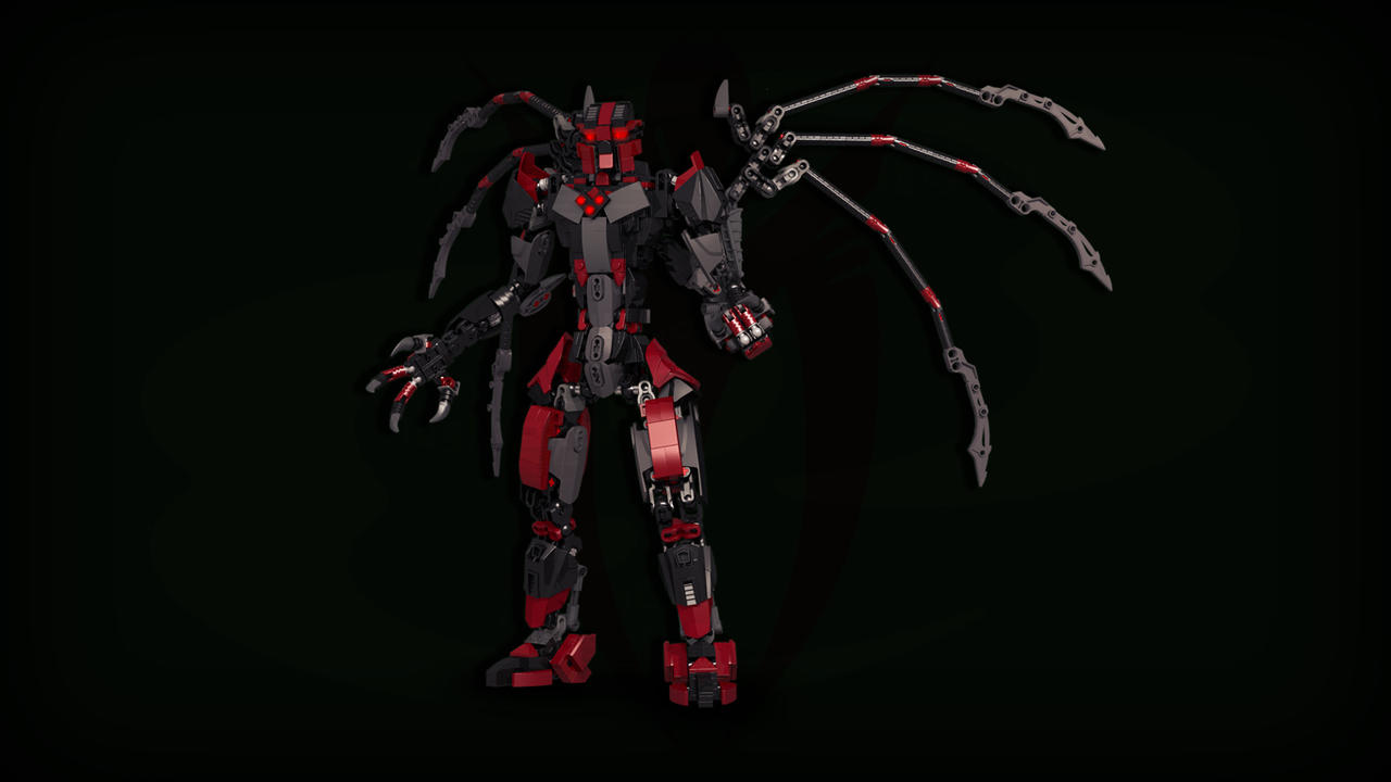 [Digital Render] Makuta Teridax by TheMugbearer