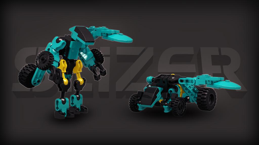 [Digital Render] City Slizer   Throwbot Turbo by TheMugbearer