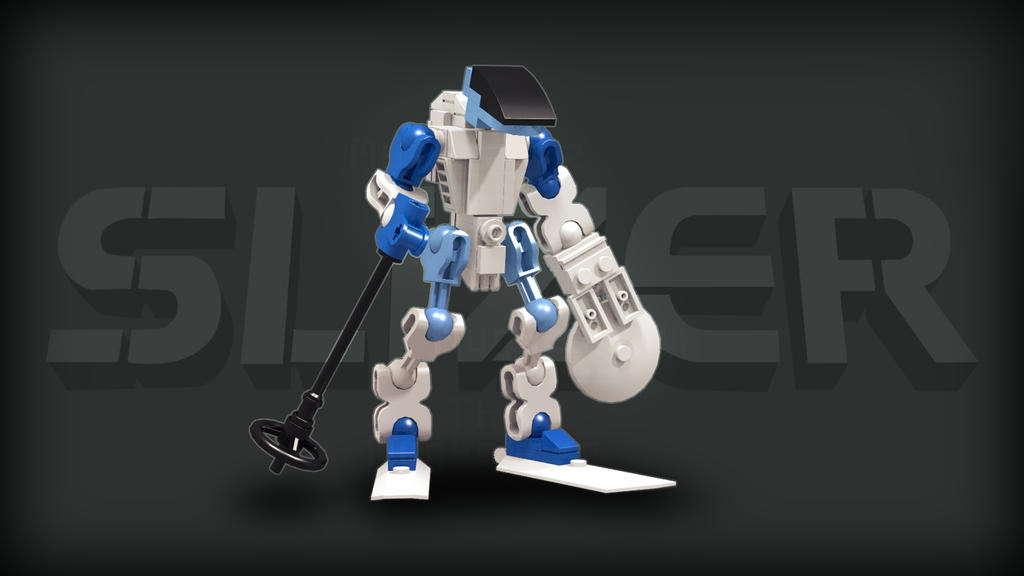 [Digital Render] Ice Slizer | Throwbot Ski by TheMugbearer