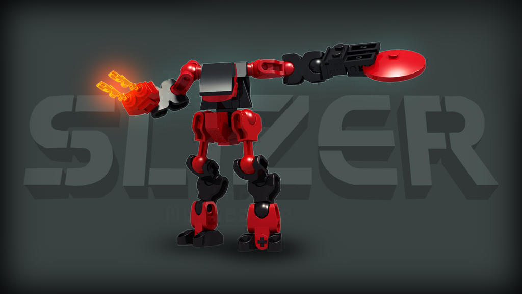 [Digital Render] Fire Slizer   Throwbot Torch by TheMugbearer