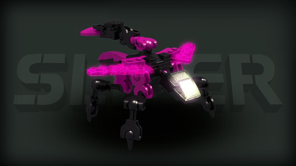 [Digital Render] Energy Slizer | Throwbot Electro by TheMugbearer