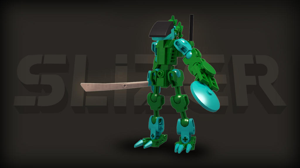[Digital Render] Jungle Slizer | Throwbot Amazon by TheMugbearer