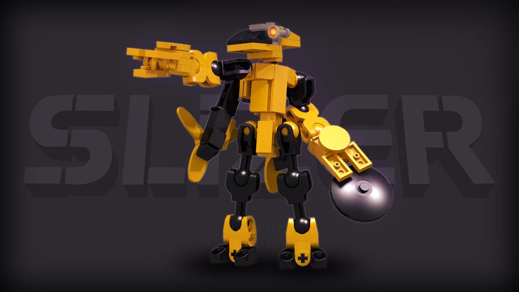 [Digital Render] Judge Slizer | Throwbot Jet by TheMugbearer
