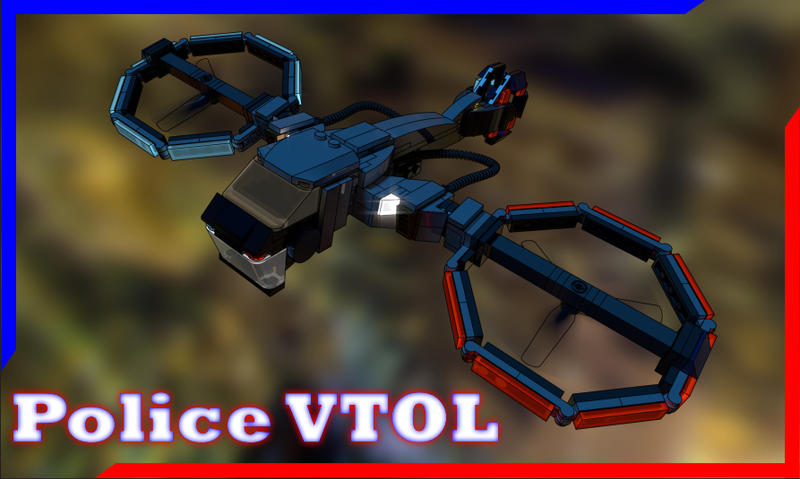 [INSTRUCTIONS] Police VTOL by TheMugbearer