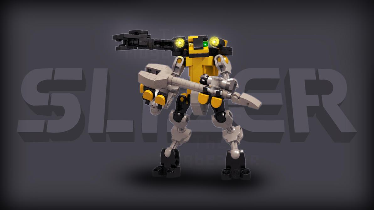 [Digital Render] Construction Slizer (Logan's OC) by TheMugbearer