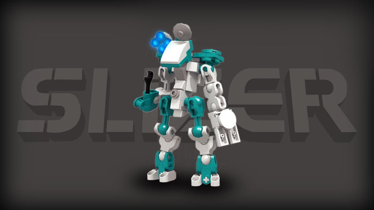 [Digital Render] Doctor Slizer (Logan McOwen's OC) by TheMugbearer