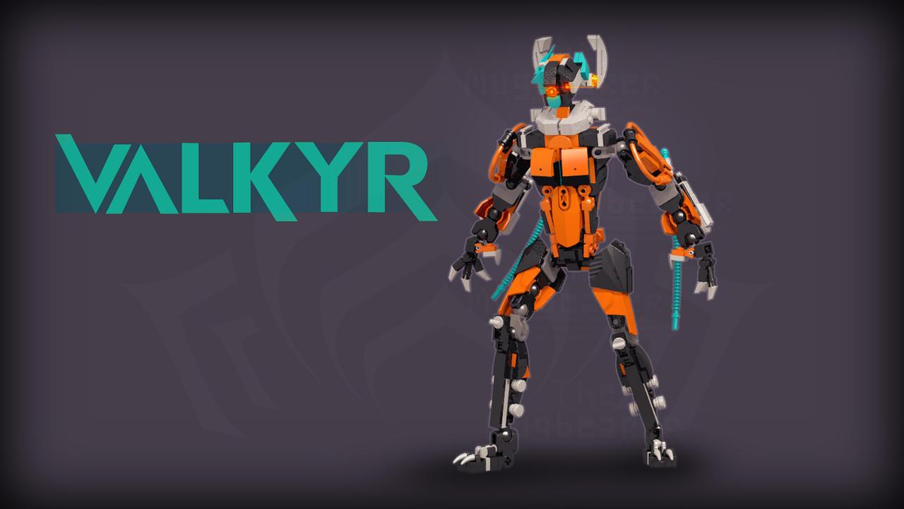 [Digital Render] Valkyr (Warframe) by TheMugbearer