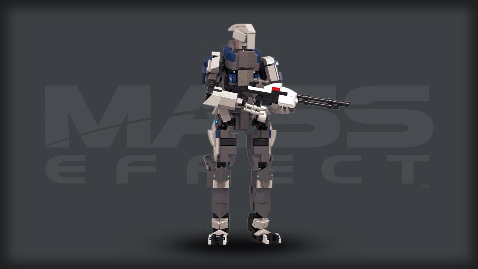 [Digital Commission] Garrus Vakarian (Mass Effect) by TheMugbearer