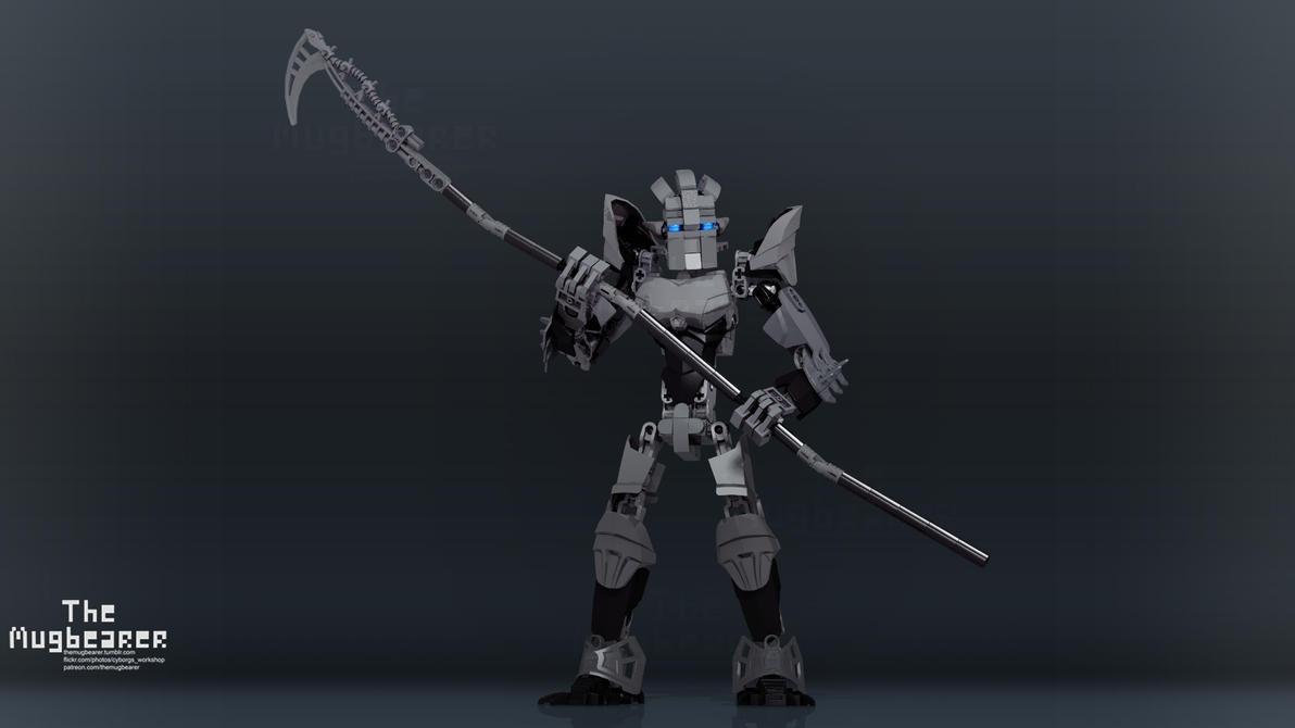 Shadow Takanuva (Bionicle) by TheMugbearer