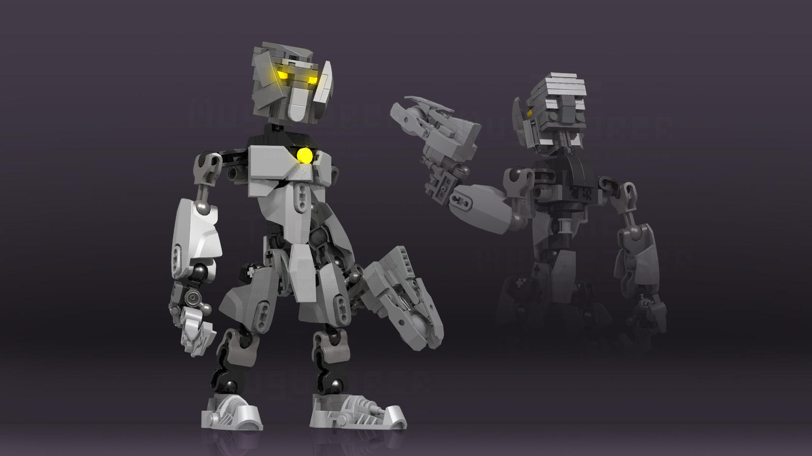 Kokono (Bionicle, Friend's OC) by TheMugbearer