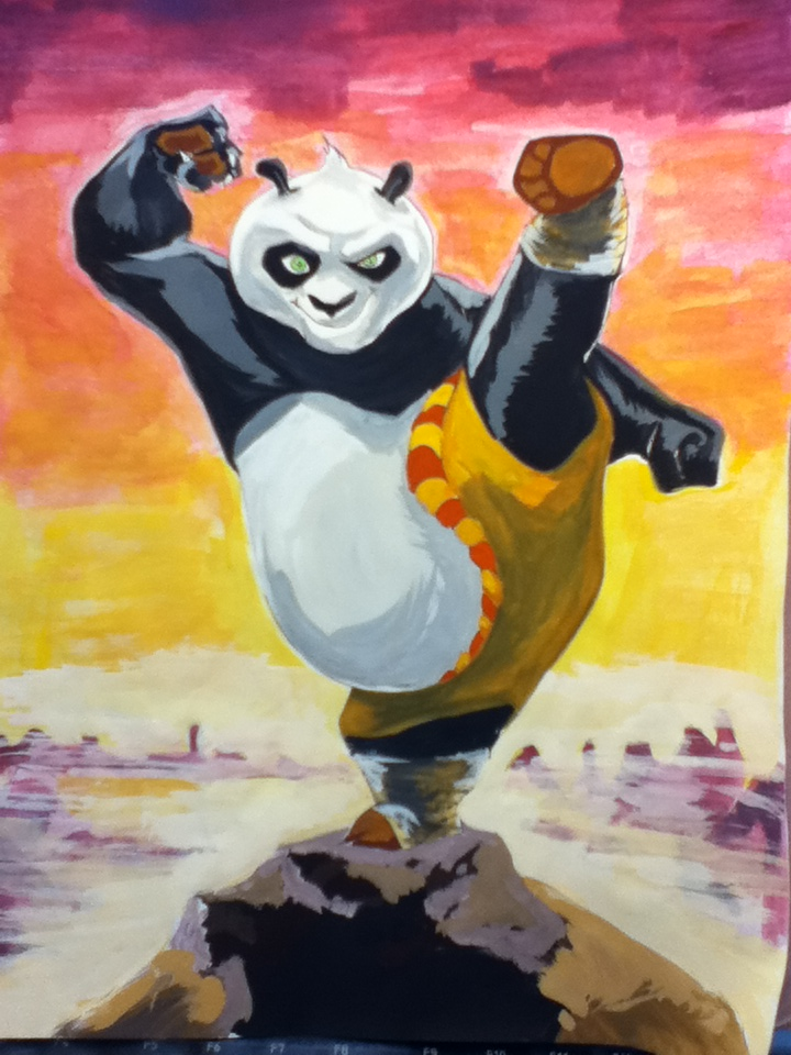Kung Fu P. by Ryupi2013