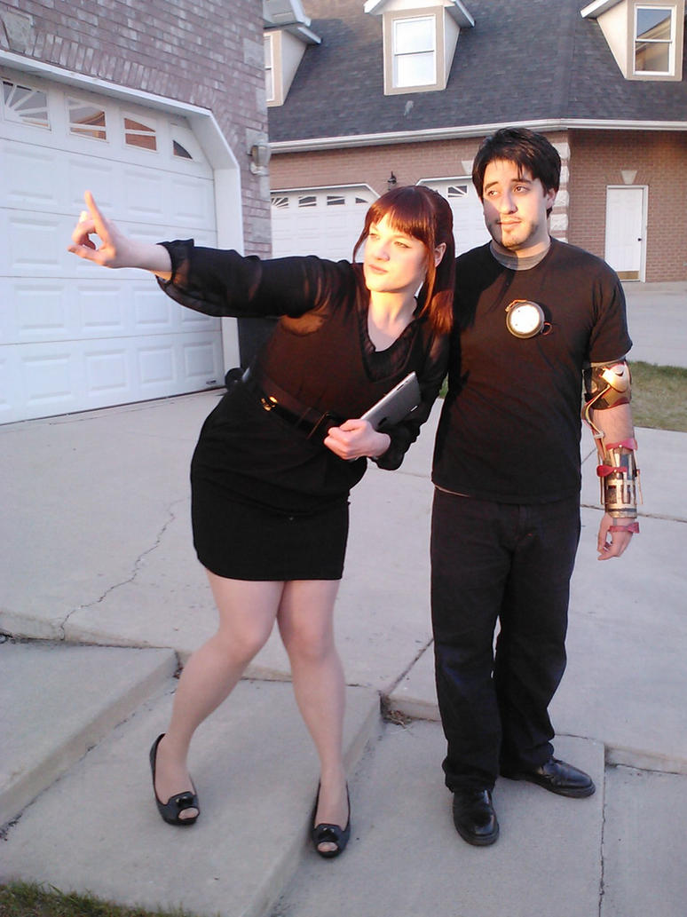 tony stark and pepper potts by annie cornell on deviantart