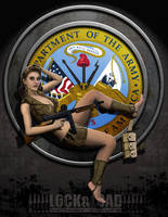 VICTORY PIN-UPS : ARMY by BrianSamms
