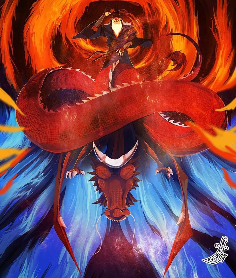 atla: Avatar Roku by ayubee