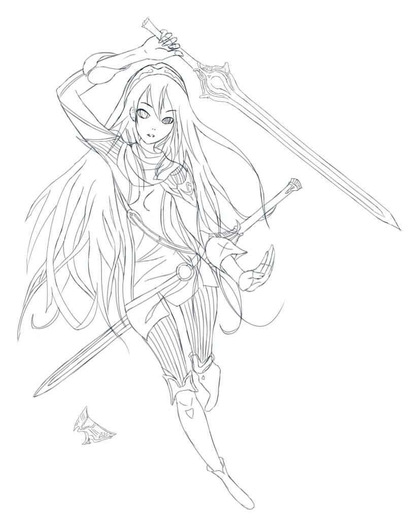Lucina from Fire Emblem by kasuka17 on DeviantArt