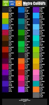 Metro Colours Generation 2
