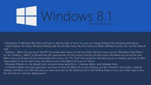 Windows Blue Concept: Workspace