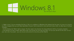 Windows Blue Concept: Make it yours