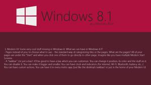 Windows Blue Concept: Changes to Modern UI