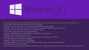 Windows Blue Concept: Buit-in apps