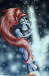 Undyne of the Royal guard by YukilapinBN