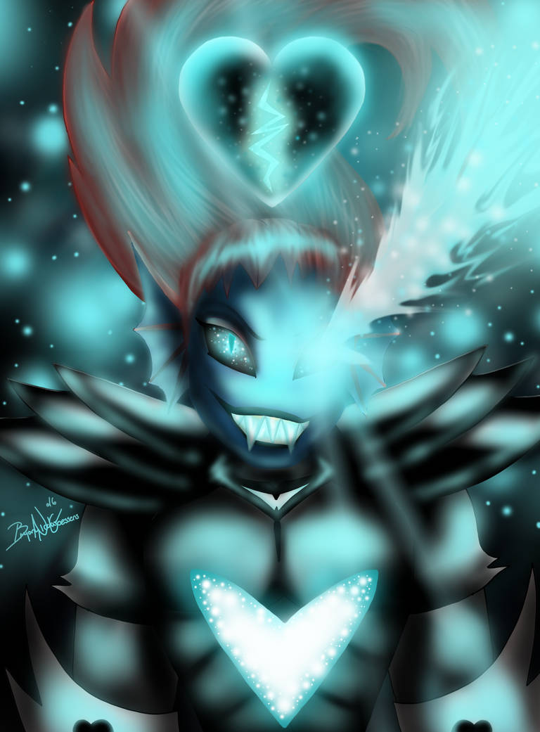 Undyne The Undying by YukilapinBN