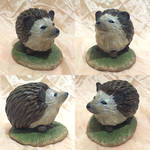 Hedgehog Sculpture by YukilapinBN