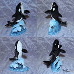 Orca Sculpture by YukilapinBN