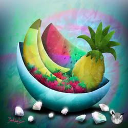 Fruitini Logo by YukilapinBN